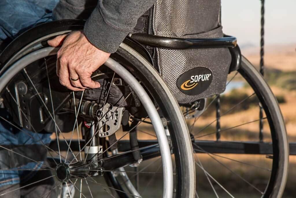 障害者支援施設の入所者